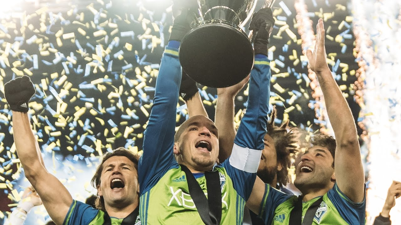 Seattle Sounders win second MLS Cup in club history, celebrate in ...