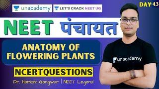 Anatomy of Flowering Plants | NEET पंचायत | Day 43 | Dr. Hariom Gangwar