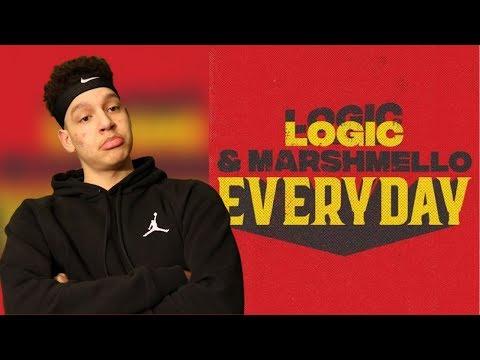 Logic & Marshmello- Everyday | REACTION