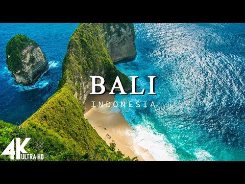 FLYING OVER BALI (4K UHD) - Relaxing Music Along With Beautiful Nature Videos(4K Video Ultra HD)