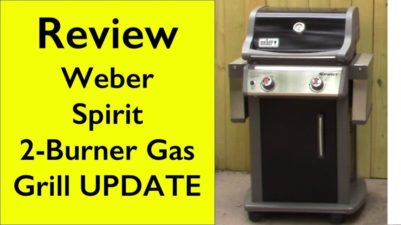 Afholte Review 1-year UPDATE Weber 46110001 Spirit E210 LP 2-burner grill VZ-38