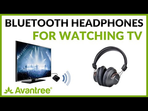 The Best Bluetooth Transmitter And Headphone Set For TV - Avantree HT4189