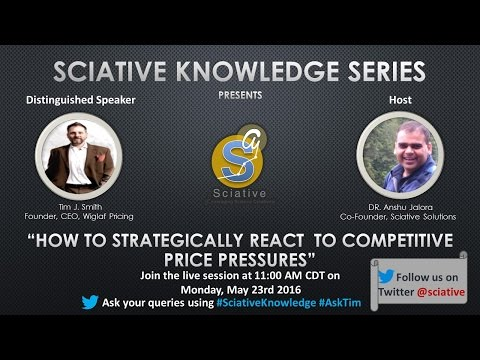 Sciative Knowledge Series: How to strategically react to competitive price pressures