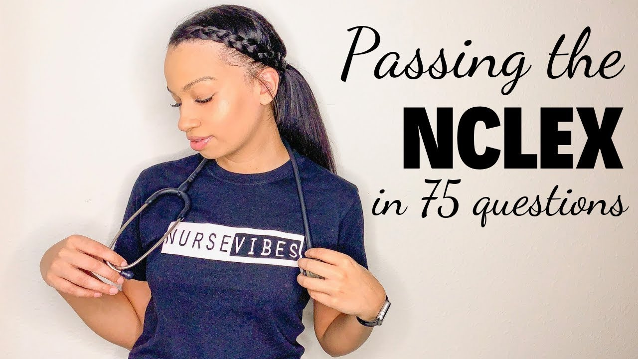 How I Passed The NCLEX In 75 Questions // UWORLD 2019