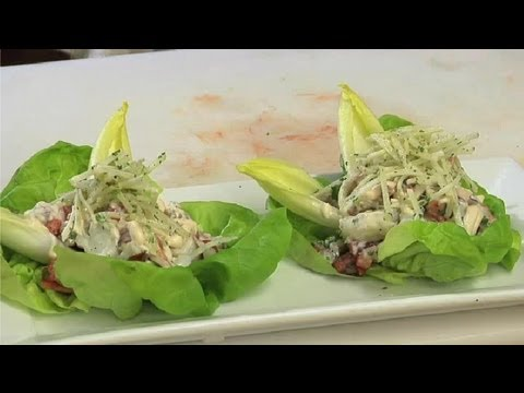 how to cut lettuce for salad youtube