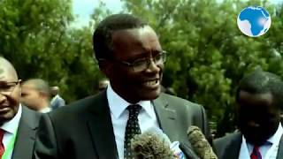 CJ Maraga at National Council on Administration of Justice Conference in Naivasha