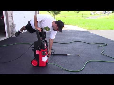 Electric PowerWasher Leaking Oil :   Fixed