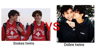 """❤Stokes twins vs dobre twins❤ """" hold on I still need you""""