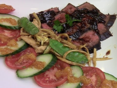 Asian Marinated And Grilled Flank Steak