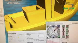 Imprimante 3D AlfaWise U20, vidéo4 : trancher et Imprimer avec le logiciel CURA connecté en USB