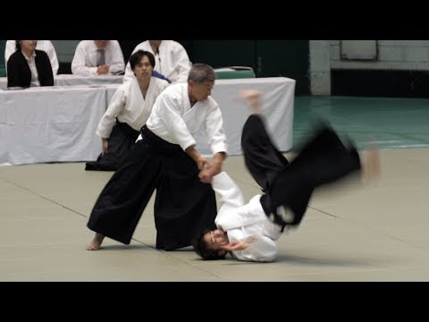 Sharp Aikido Seki Shoji - 56th All Japan Aikido Demonstration 2018