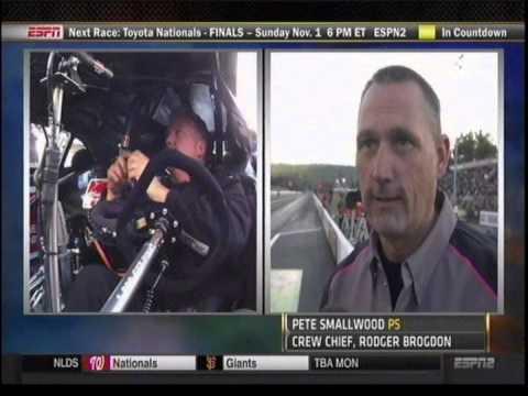Roger Brogdon Allen Johnson Pro Stock Final Maple Grove Raceway PA  2014