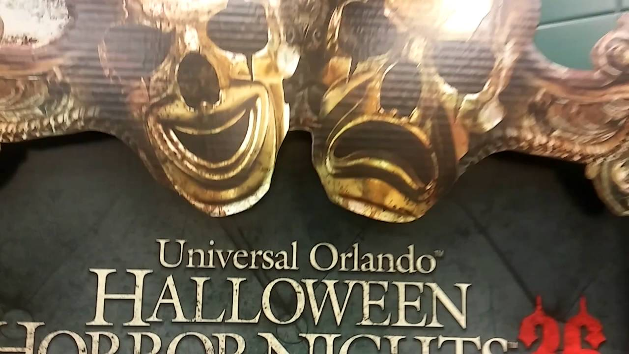 Halloween Horror Nights 26 Tickets Available NOW At Publix! - YouTube