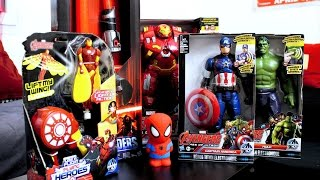 SELECTION Jouets Noël 2015 :  figurines AVENGERS Heros et sabre STAR WARS Bladebuilders