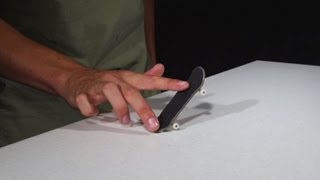 How-To Fingerboard Shuvit/Pop Shuvit - FingerTips Tutorial 1 - Disney Exclusive