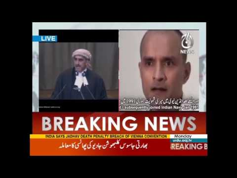 Kulbhushan Yadav's Case: Pakistani Lawyers go Hard in International Court of Justice