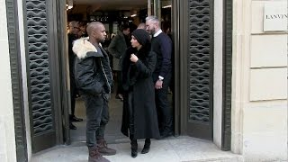 Kim Kardashian and Kanye West are reunited in Paris