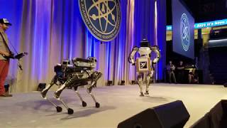 SciTechLeaders 2017 Boston Dynamics Robot Demo