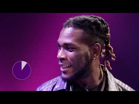 Falz acts as Seyi Shay while Burna Boy impersonates Dj Jimmy Jatt on The Bigger Friday Show