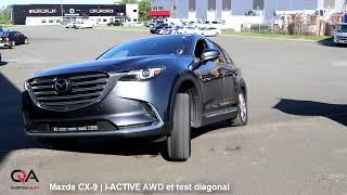 Video FAIL mais pourquoi? Mazda CX-9 I-ACTIVE AWD vs Test Diagonal download MP3, 3GP, MP4, WEBM, AVI, FLV Agustus 2018