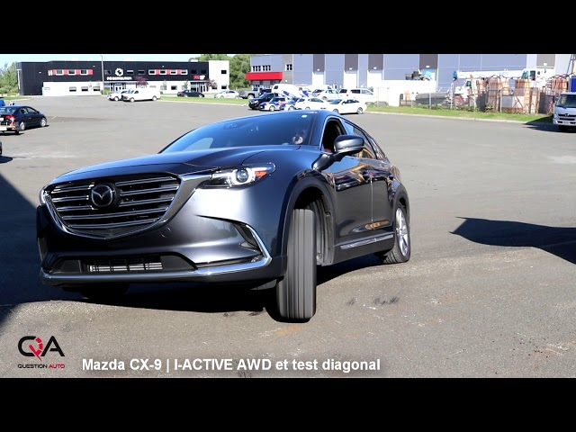 FAIL mais pourquoi? Mazda CX-9 I-ACTIVE AWD vs Test Diagonal