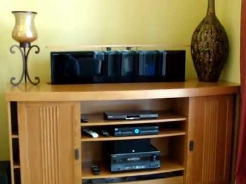 pop up tv cabinet youtube. Black Bedroom Furniture Sets. Home Design Ideas
