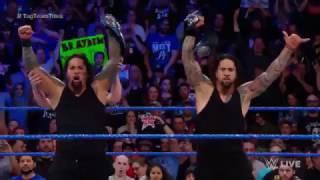 American Alpha vs  The Usos   SmackDown por el  campeonato en parejas de  SmackDown