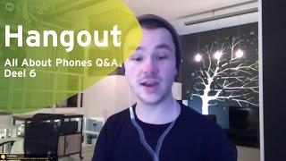 All About Phones Q&A deel 6: HTC One M9, Sony en Windows 10