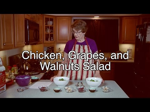 Chicken, Grapes, And Walnuts Salad