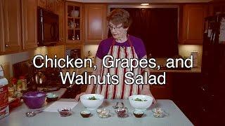 Chicken, Grapes, And Walnuts Salad