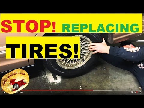 WHY Replace a TIRE AGAIN !!! Amazing :)