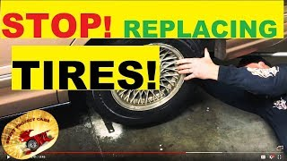 STOP!.... REPLACING TIRES... Amazing !!!!!