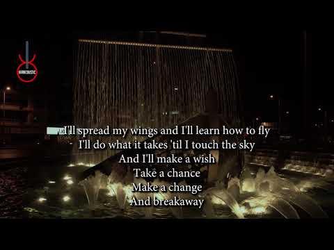 Breakaway (acoustic karaoke) - Kelly Clarkson