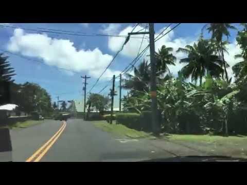 Driving in American Samoa