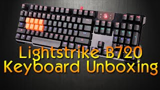 Bloody Gaming B720 Lightstrike Keyboard Unboxing