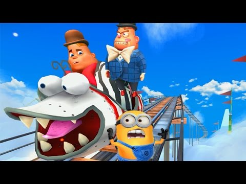 Despicable Me 2: Minion Rush Super Silly Fun Land Part 11 - Jack in the boxes Boss