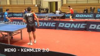 Fulda-Maberzell 2 - DJK Münster (Oberliga Herren Tischtennis)