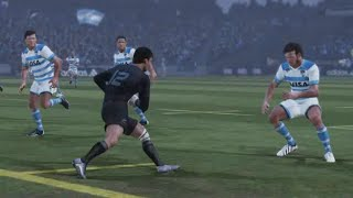 Rugby Challenge 3: BE A PRO 2017 All Blacks v Pumas 4 Nations Championship (Round 2)