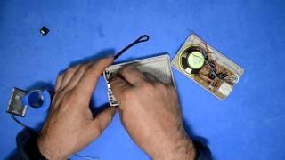 MODIFICAR RADIO DE PILAS AA R6 A BATERIA RECARGABLE DE MOVIL