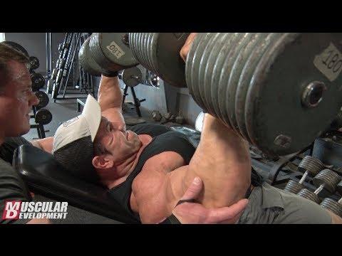 Steve Kuclo | Chest Training Olympia Prep