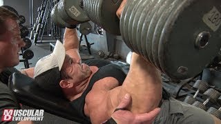 Steve Kuclo | Chest Training Olympia Prep