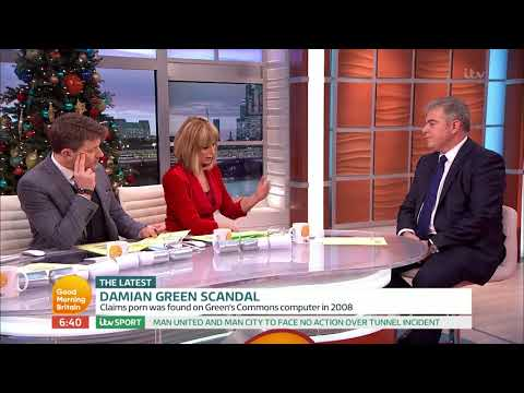 Immigration Minister Comments on Damian Green's Sacking   Good Morning Britain