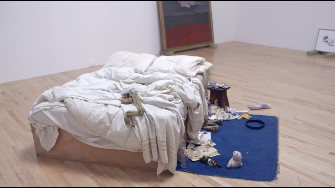 Design Tate Bed tracey emins my bed at tate britain youtube
