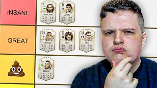 RANKING EVERY ICON ON FIFA 21!