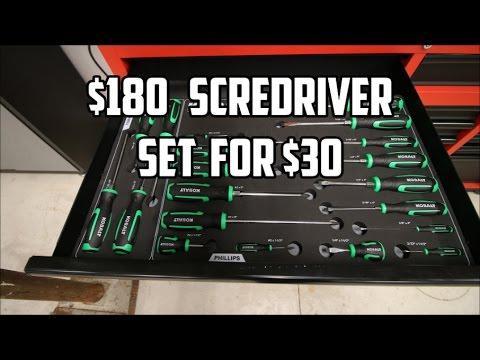 777f23a2a  180 Mac Tools Screwdriver Set for  30 - YouTube