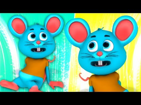 Do Chuhe The   Hindi Rhymes   Kids Songs   Nursery Rhymes   दो चूहा वहाँ   Preschool Songs