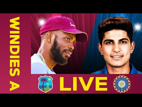 LIVE West Indies A Vs India A   Day 4   First Test
