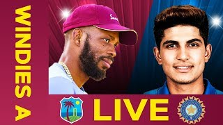 LIVE West Indies A vs India A | Day 4 | First Test