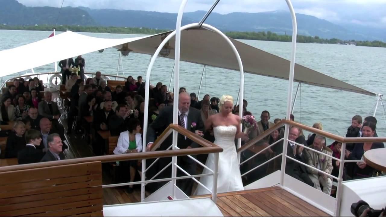 Hochzeit bodensee schiff