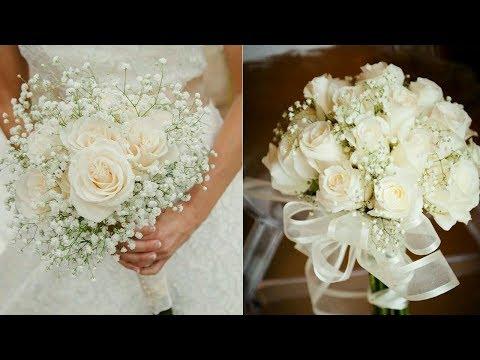 How To Arrange A Bridal Bouquet | DIY Wedding Bouquet | Fresh Flower Bouquet For Wedding